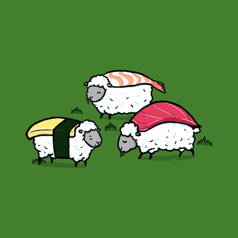 Susheep! Women's T-Shirt by Threadless Artist Shop