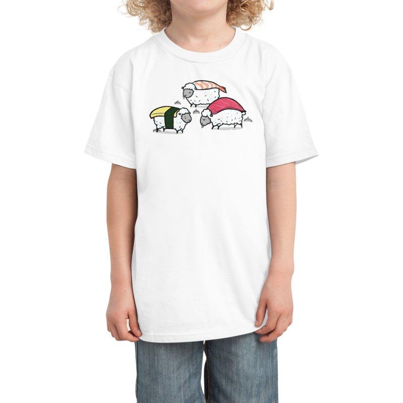 Susheep! Kids T-Shirt by Threadless Artist Shop