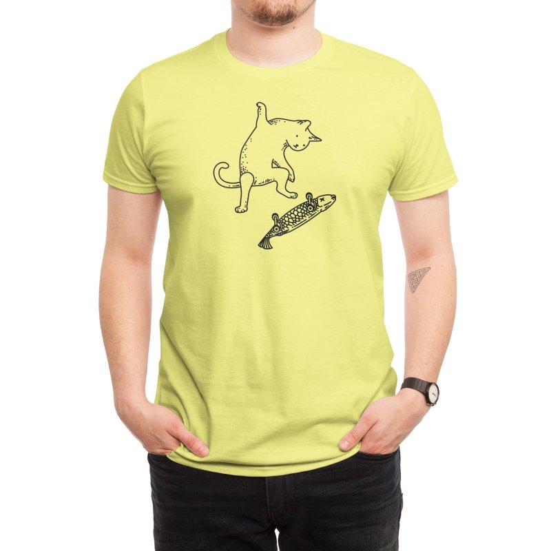 Street cat Men's T-Shirt by Threadless Artist Shop