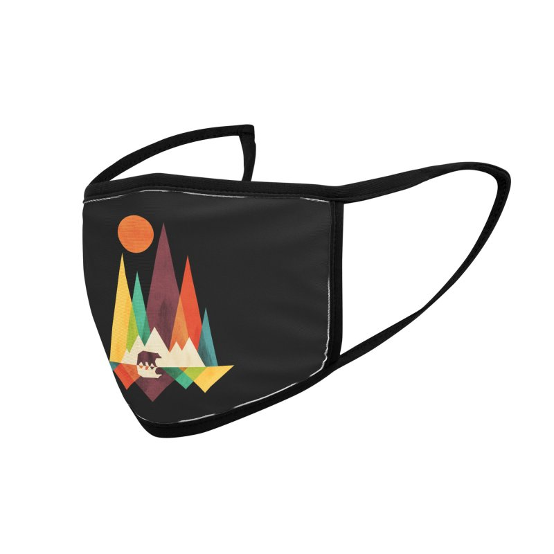 The Great Outdoors (Black Variant) Accessories Face Mask by Threadless Artist Shop