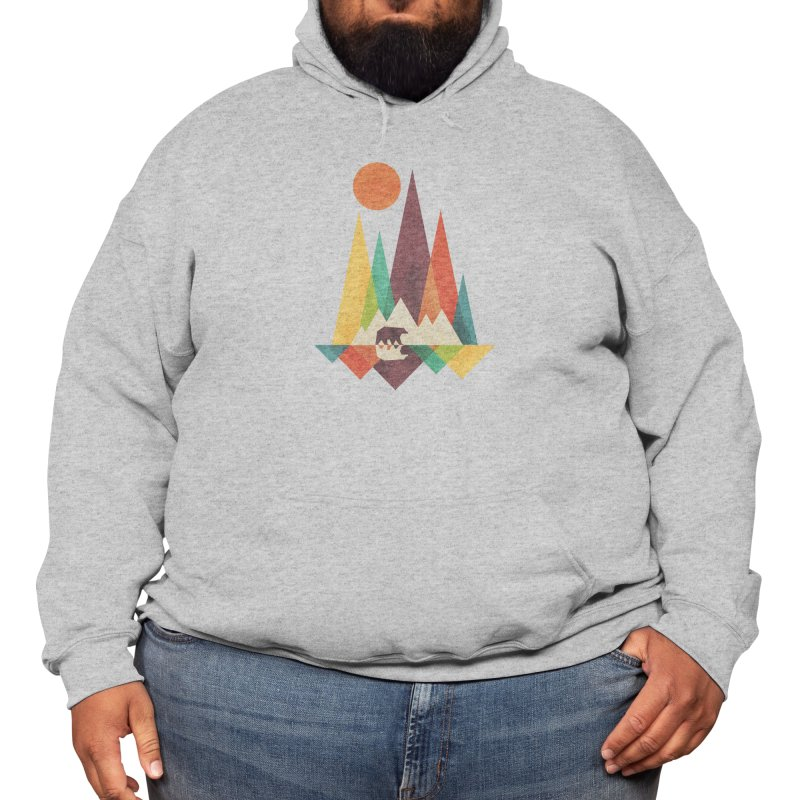 The Great Outdoors (Black Variant) Men's Pullover Hoody by Threadless Artist Shop