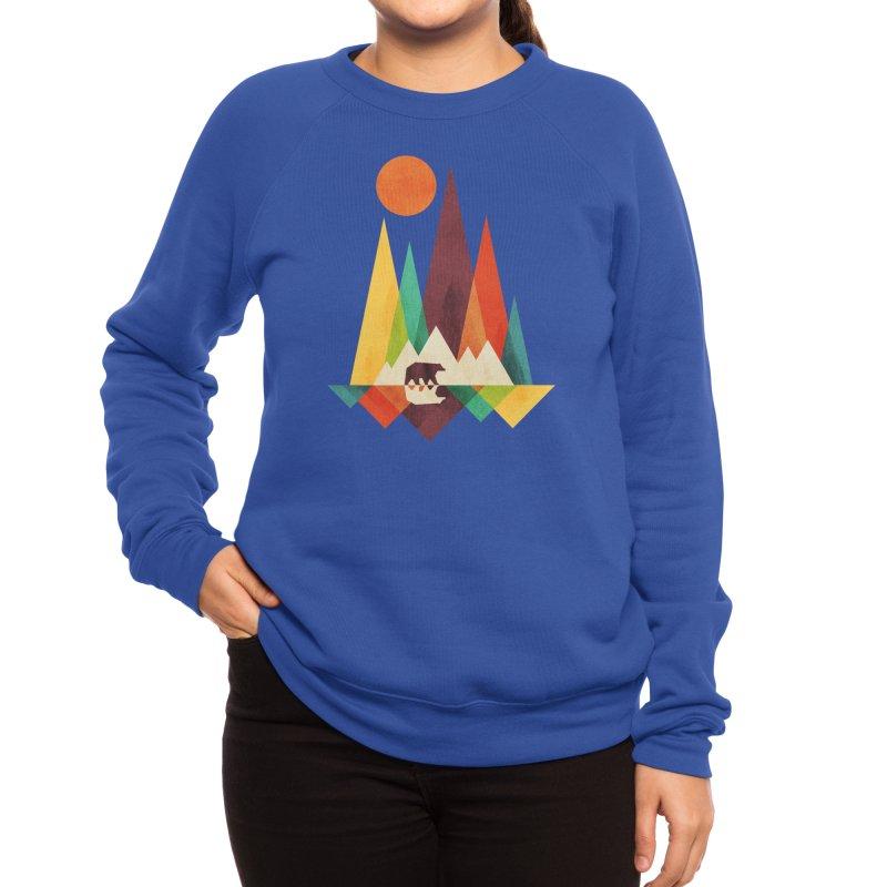 The Great Outdoors (Black Variant) Women's Sweatshirt by Threadless Artist Shop