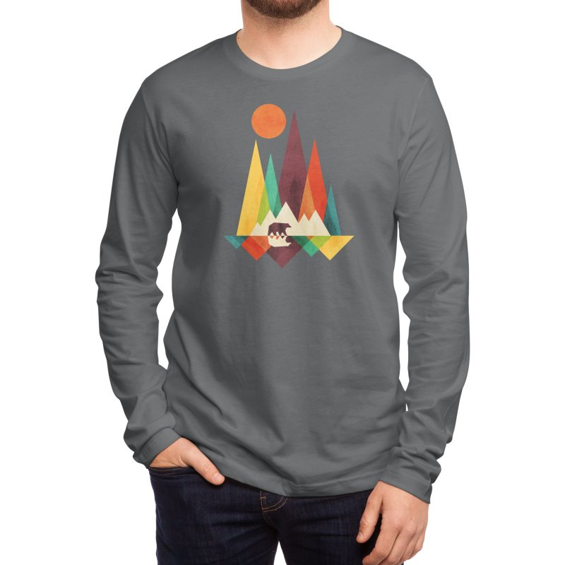 The Great Outdoors (Black Variant) Men's Longsleeve T-Shirt by Threadless Artist Shop