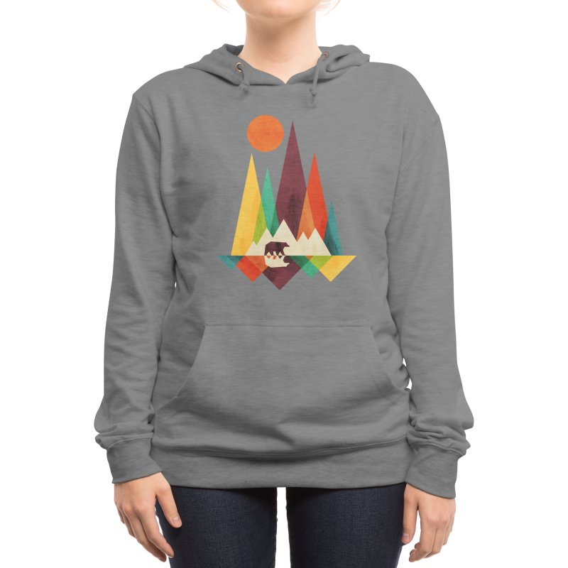 The Great Outdoors (Black Variant) Women's Pullover Hoody by Threadless Artist Shop