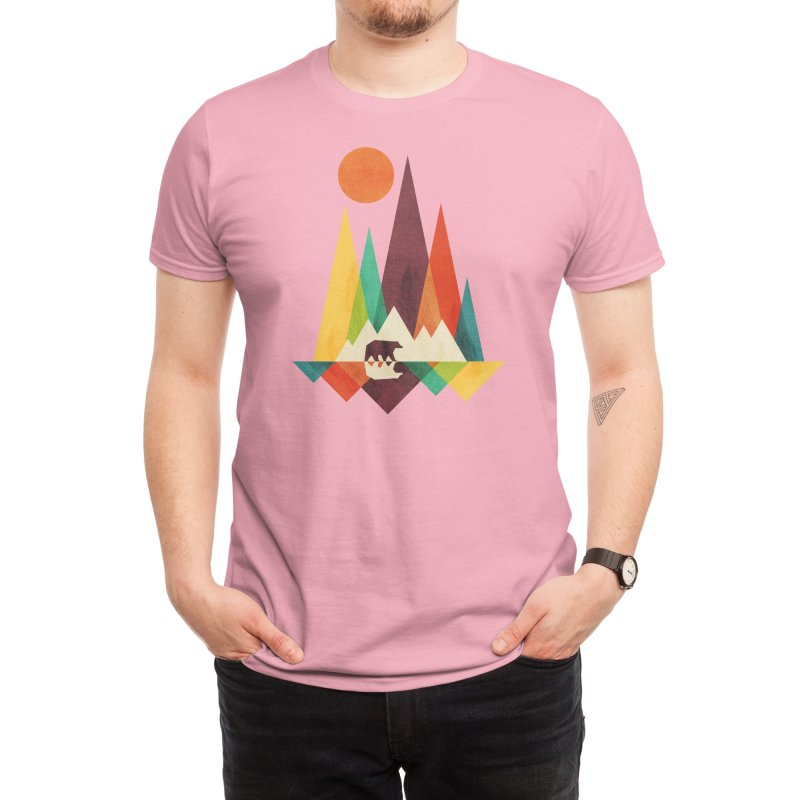 The Great Outdoors (Black Variant) Men's T-Shirt by Threadless Artist Shop