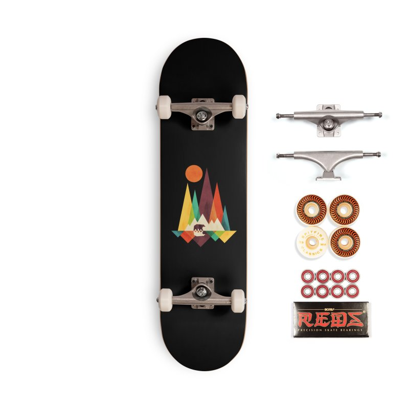 The Great Outdoors (Black Variant) Accessories Skateboard by Threadless Artist Shop