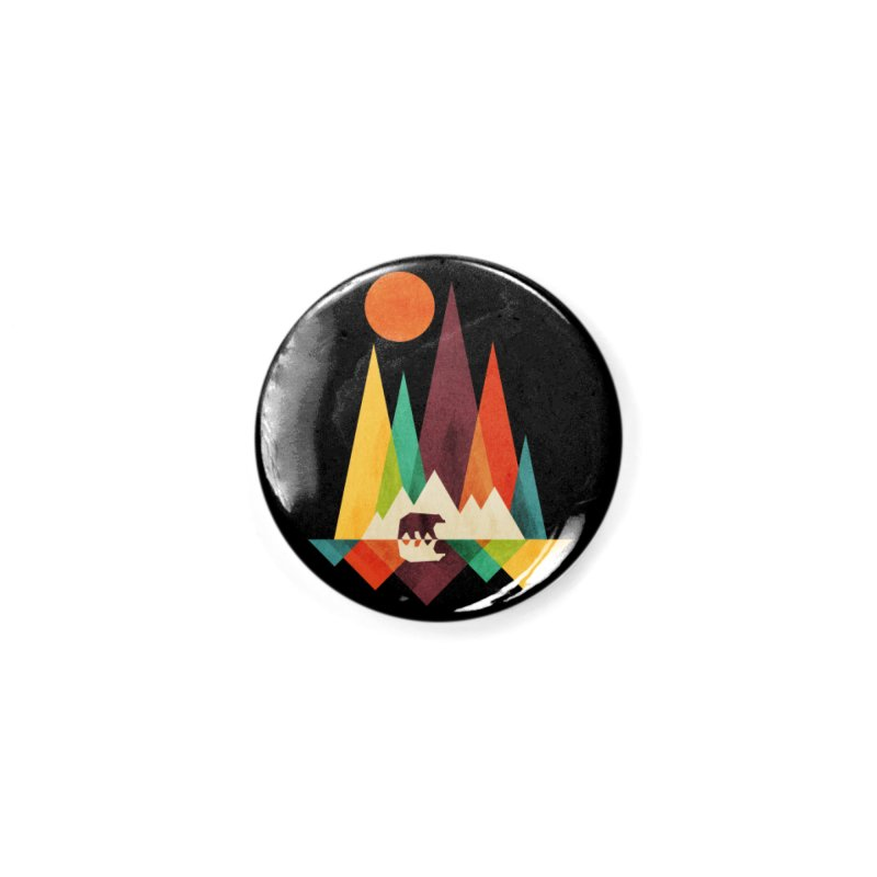 The Great Outdoors (Black Variant) Accessories Button by Threadless Artist Shop