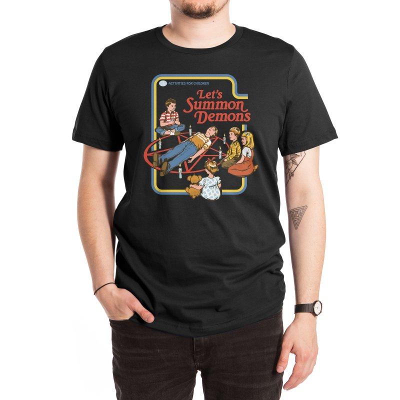 Let's Summon Demons (Black Variant) Men's T-Shirt by Threadless Artist Shop