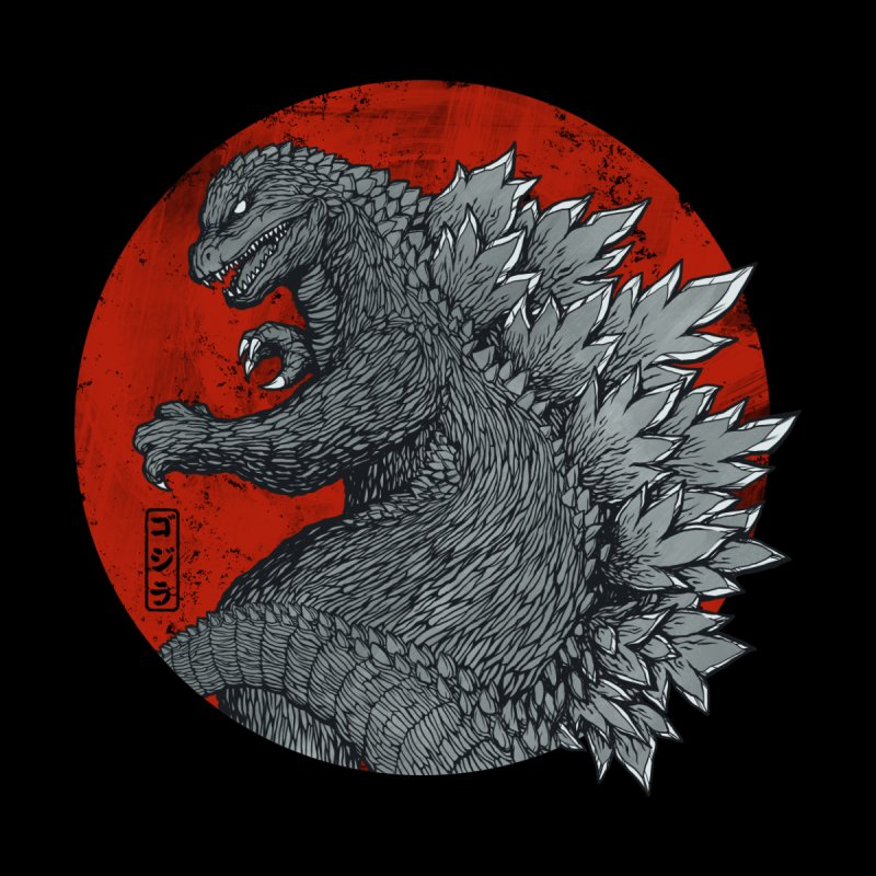 Tokyo Kaiju (Black Variant) Kids T-Shirt by Threadless Artist Shop