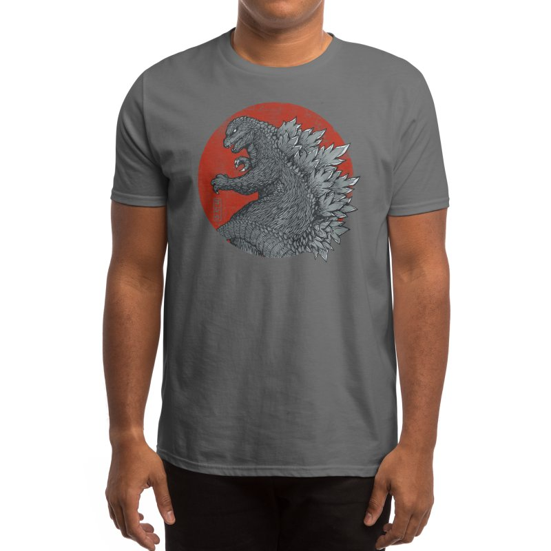 Tokyo Kaiju (Black Variant) Men's T-Shirt by Threadless Artist Shop