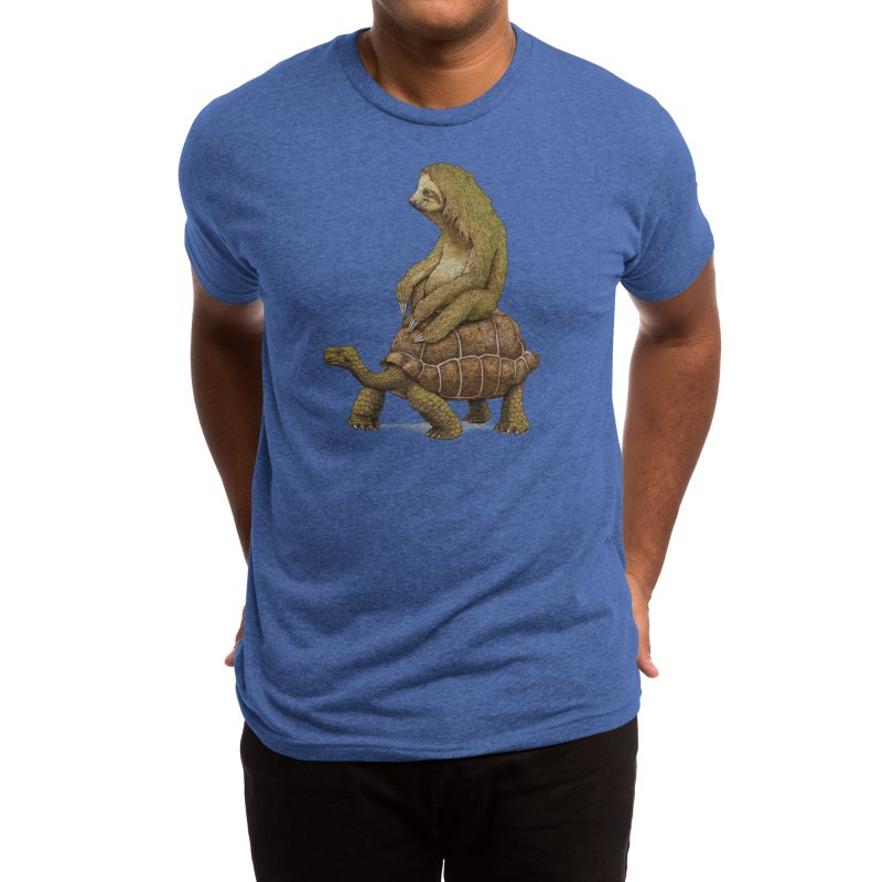 Speed is Relative (Black Variant) Men's T-Shirt by Threadless Artist Shop
