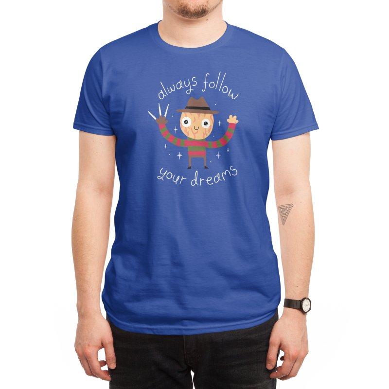 Always Follow Your Dreams (Black Variant) Men's T-Shirt by Threadless Artist Shop