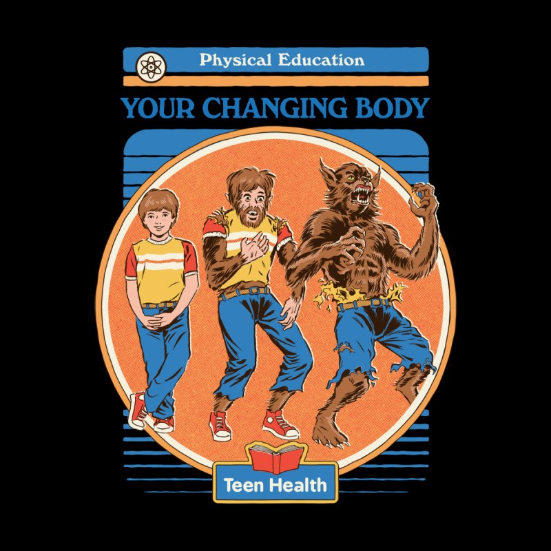 Your Changing Body (Black Variant) Men's T-Shirt by Threadless Artist Shop