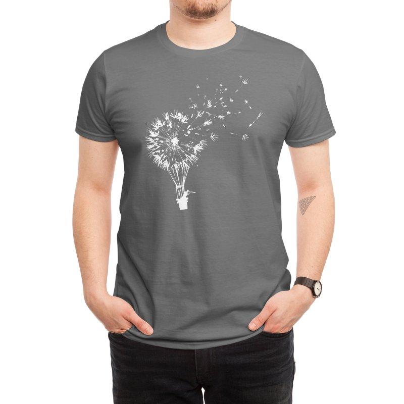 Going Where the Wind Blows (Black Variant) Men's T-Shirt by Threadless Artist Shop