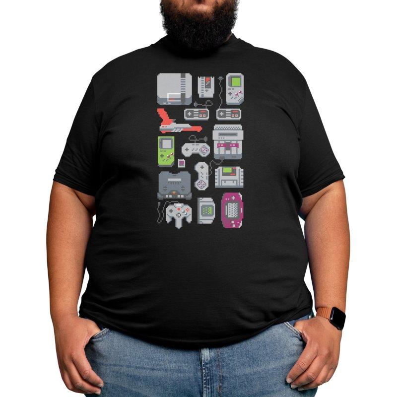 A Pixel of My Childhood (Black Variant) Men's T-Shirt by Threadless Artist Shop