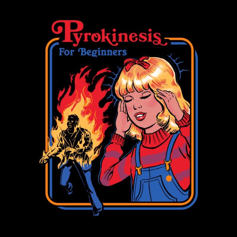 Pyrokinesis for Beginners Men's Longsleeve T-Shirt by Threadless Artist Shop