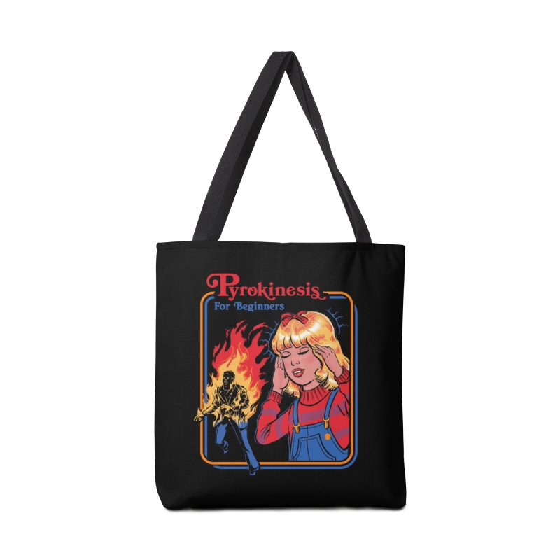 Pyrokinesis for Beginners Accessories Bag by Threadless Artist Shop