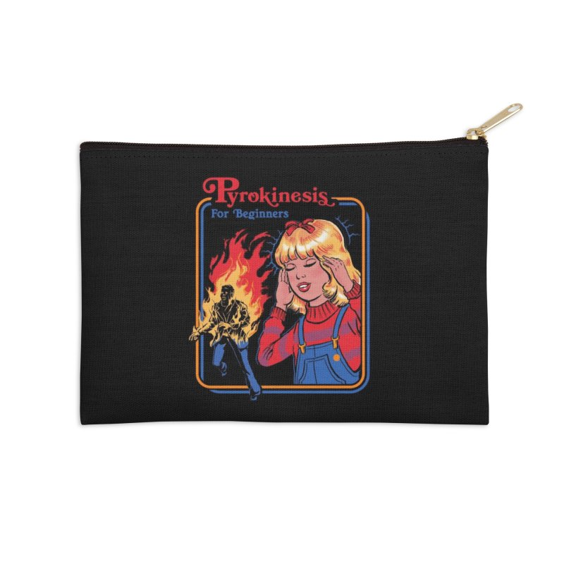 Pyrokinesis for Beginners Accessories Zip Pouch by Threadless Artist Shop