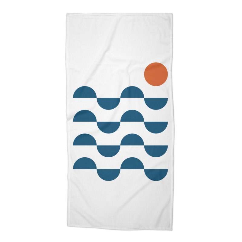 Regular Waves Accessories Beach Towel by Threadless Artist Shop