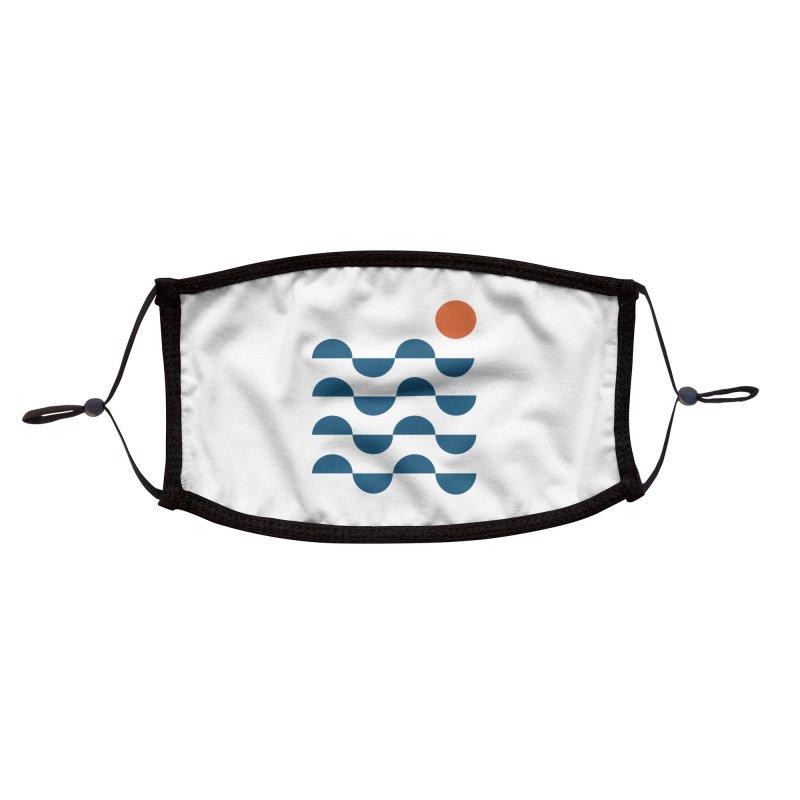 Regular Waves Accessories Face Mask by Threadless Artist Shop