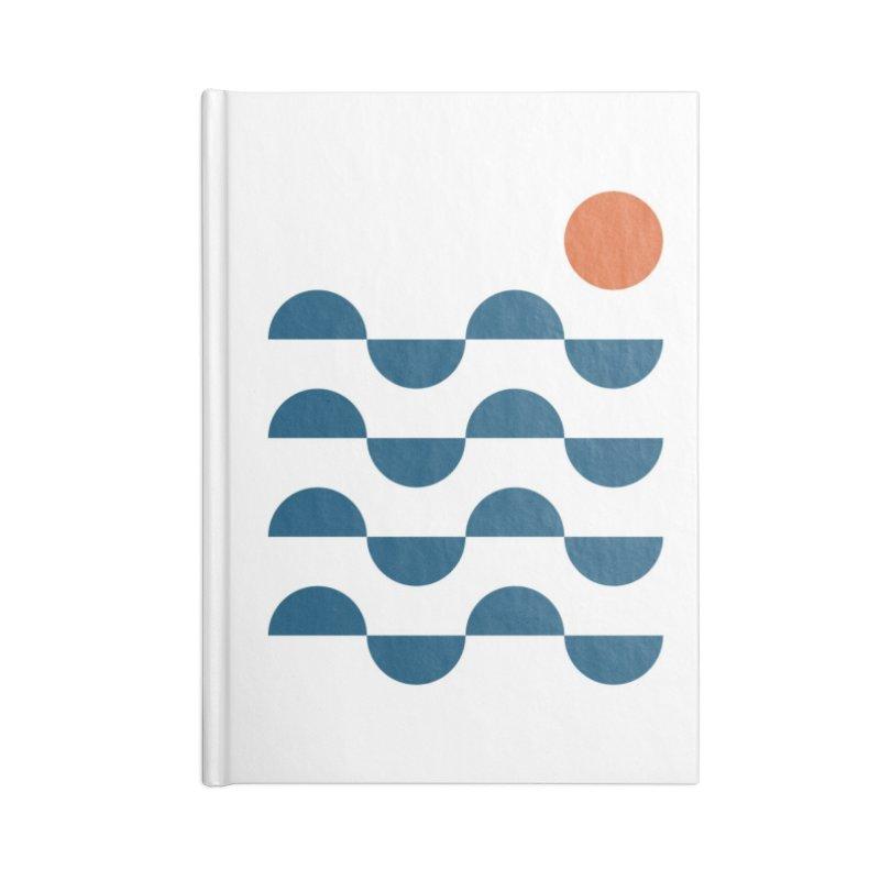 Regular Waves Accessories Notebook by Threadless Artist Shop