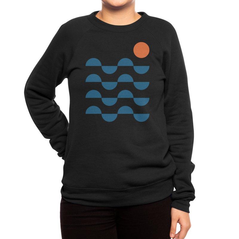 Regular Waves Women's Sweatshirt by Threadless Artist Shop