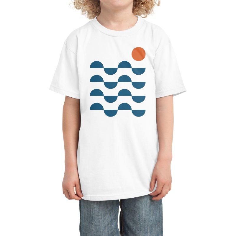 Regular Waves Kids T-Shirt by Threadless Artist Shop