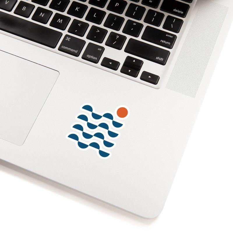 Regular Waves Accessories Sticker by Threadless Artist Shop