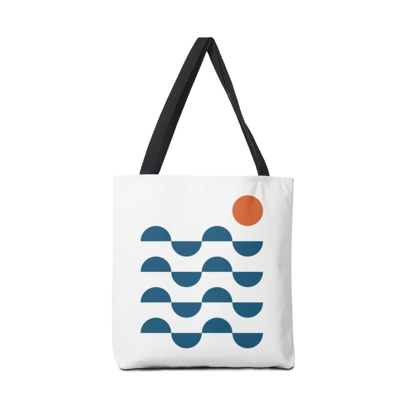 Regular Waves Accessories Bag by Threadless Artist Shop