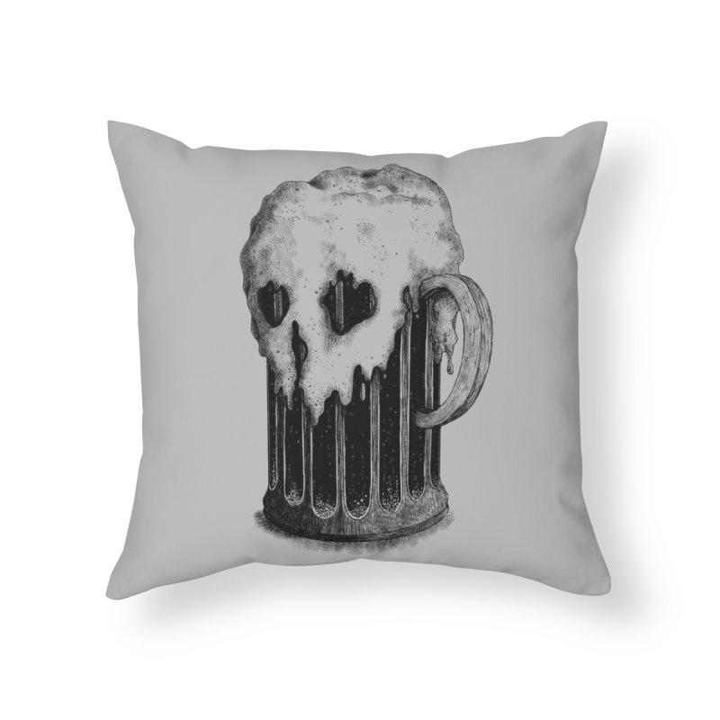 Dark Lager Home Throw Pillow by Threadless Artist Shop