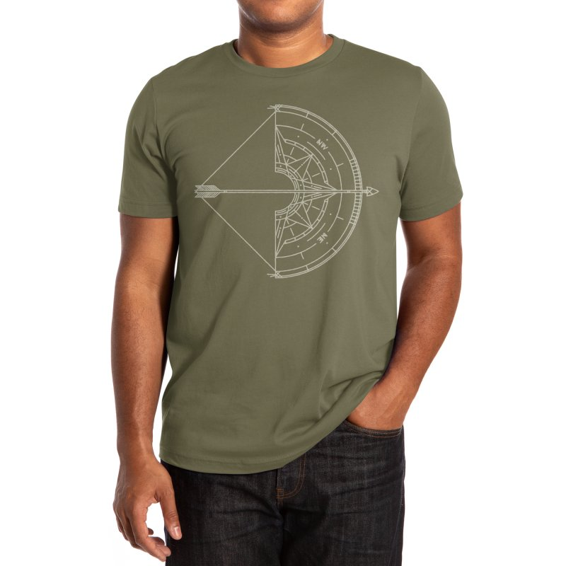 NORTH Men's T-Shirt by Threadless Artist Shop