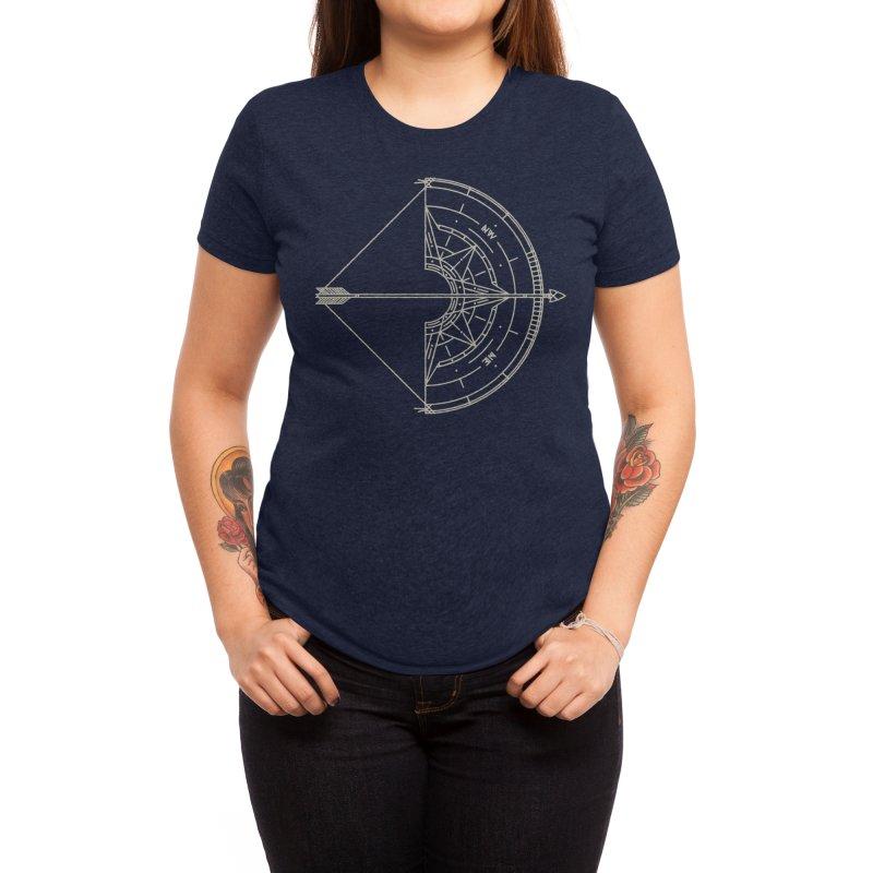 NORTH Women's T-Shirt by Threadless Artist Shop