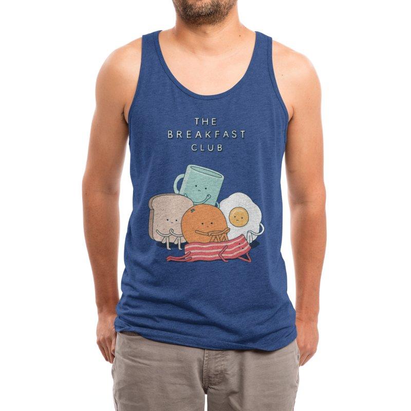 The Breakfast Club Men's Tank by Threadless Artist Shop
