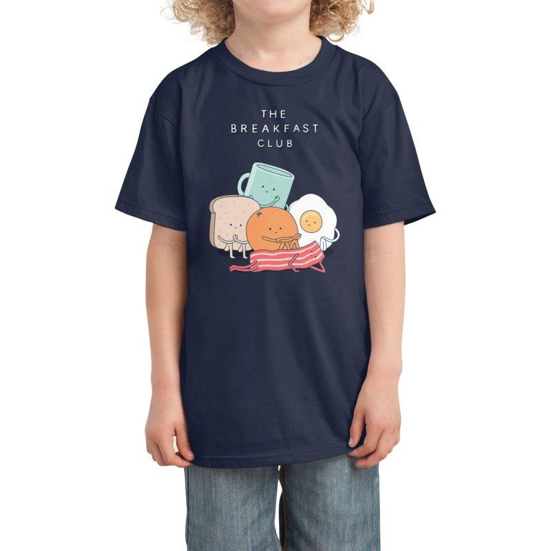 The Breakfast Club Kids T-Shirt by Threadless Artist Shop