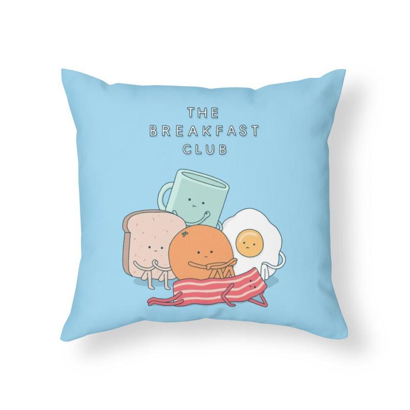The Breakfast Club Home Throw Pillow by Threadless Artist Shop