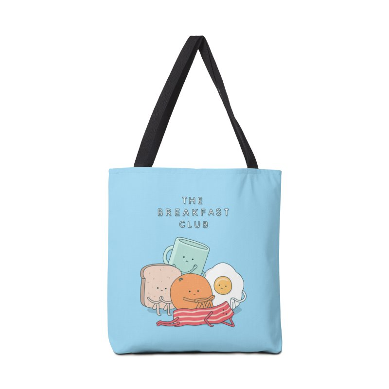 The Breakfast Club Accessories Bag by Threadless Artist Shop