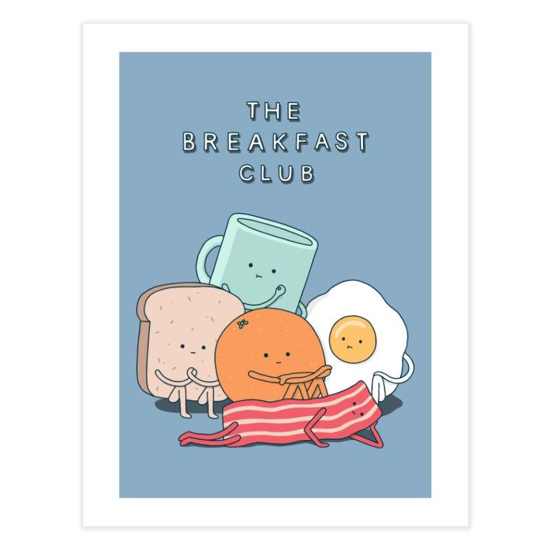 The Breakfast Club Home Fine Art Print by Threadless Artist Shop