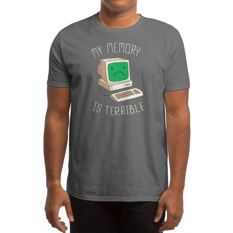 My Memory Is Terrible Men's T-Shirt by Threadless Artist Shop