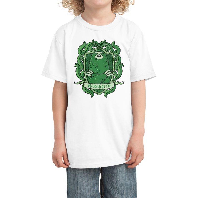 Slotherin Kids T-Shirt by Threadless Artist Shop