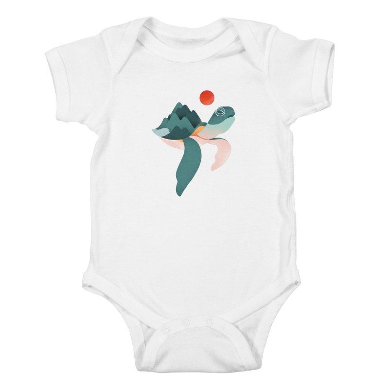Archelon Kids Baby Bodysuit by Threadless Artist Shop