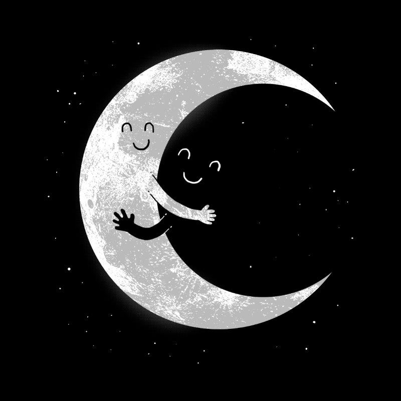 Moon Hug Men's T-Shirt by Threadless Artist Shop