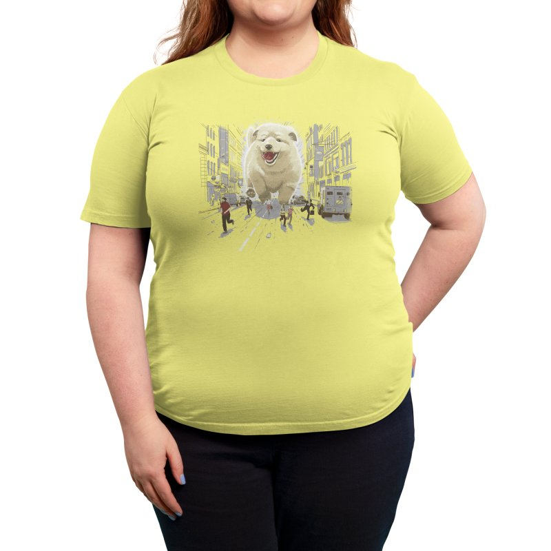 Attack of the Cutest Monster Women's T-Shirt by Threadless Artist Shop
