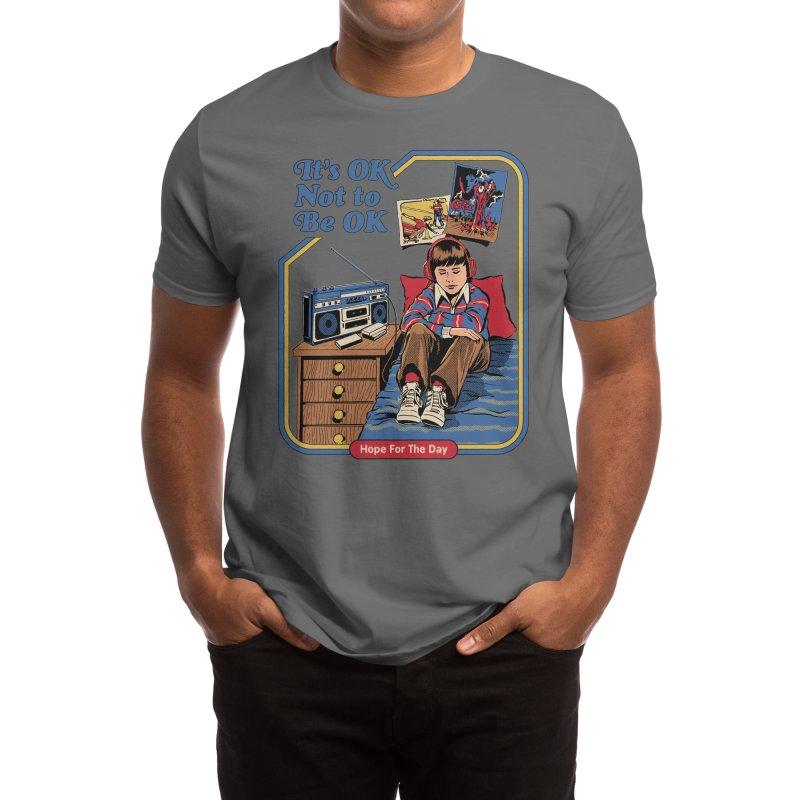It's OK Not to Be OK Men's T-Shirt by Threadless Artist Shop