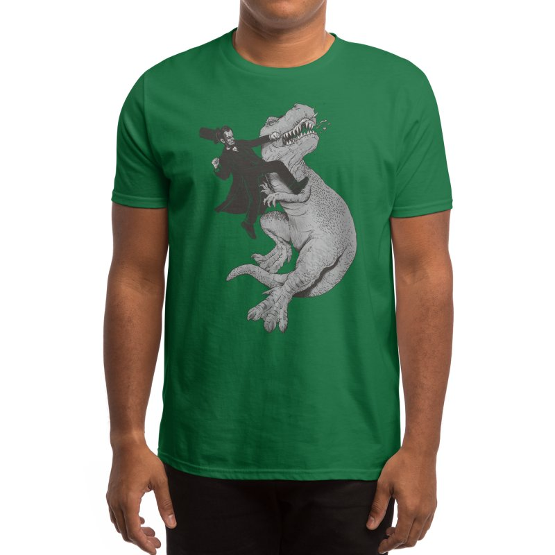 Abraham Men's T-Shirt by Threadless Artist Shop