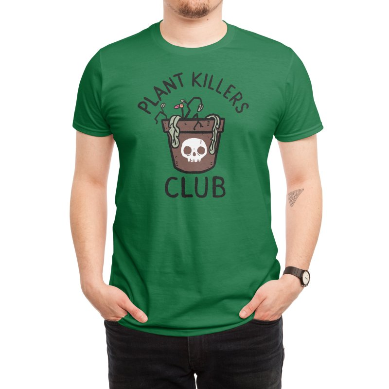 Plant Killers Club Men's T-Shirt by Threadless Artist Shop