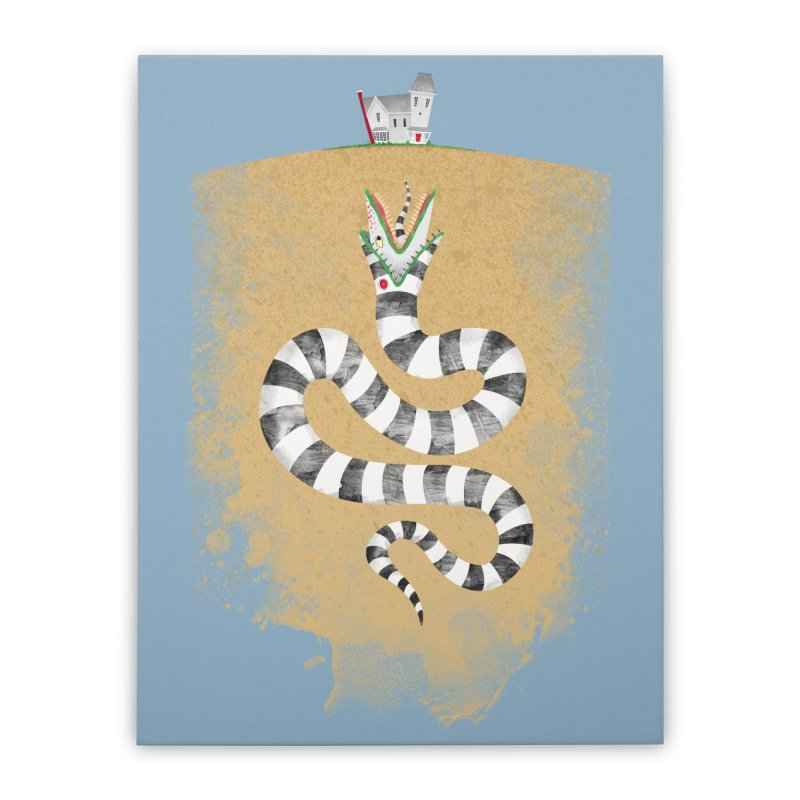 Recently Deceased Home Stretched Canvas by Threadless Artist Shop