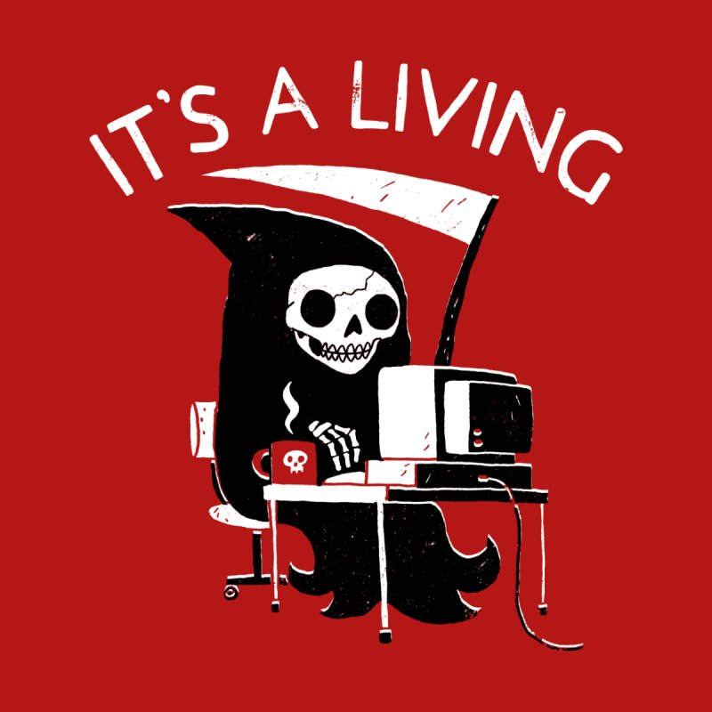 It's A Living Men's Tank by Threadless Artist Shop