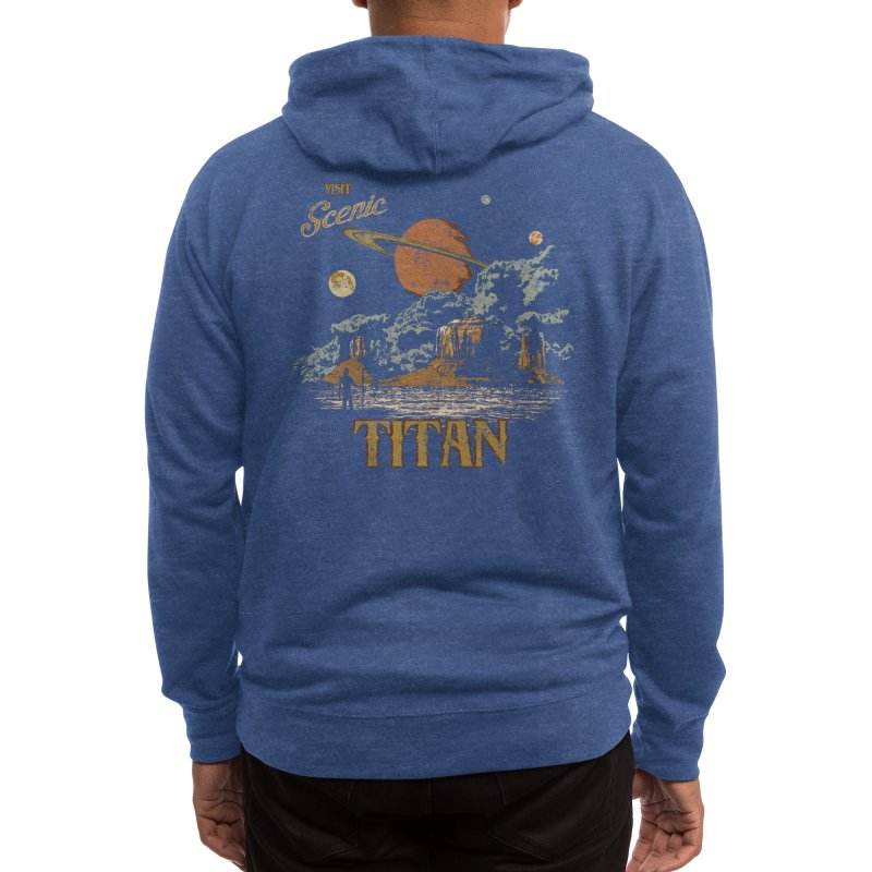 Visit Scenic Titan Men's Zip-Up Hoody by Threadless Artist Shop