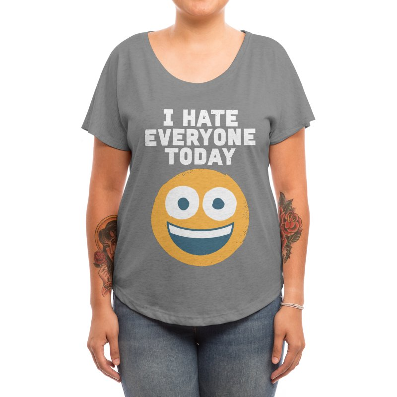Loathe Is the Answer Women's Scoop Neck by Threadless Artist Shop