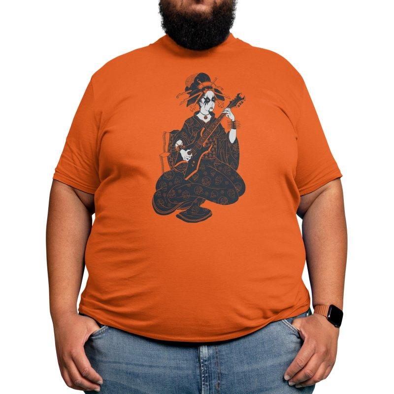 Black Metal Geisha Men's T-Shirt by Threadless Artist Shop